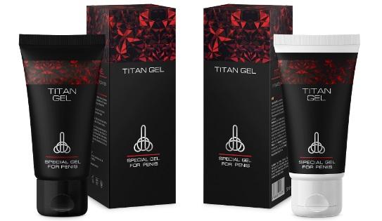 Titan gel pris